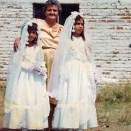 Abuela y nietas