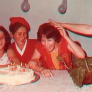 Celebración del cumpleaños de Liliana Echeverry